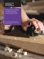 Undersøgelse af minoritetskøn på erhvervsuddannelser